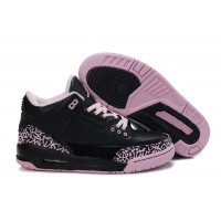 Womens Air Jordan 3 Black Purple