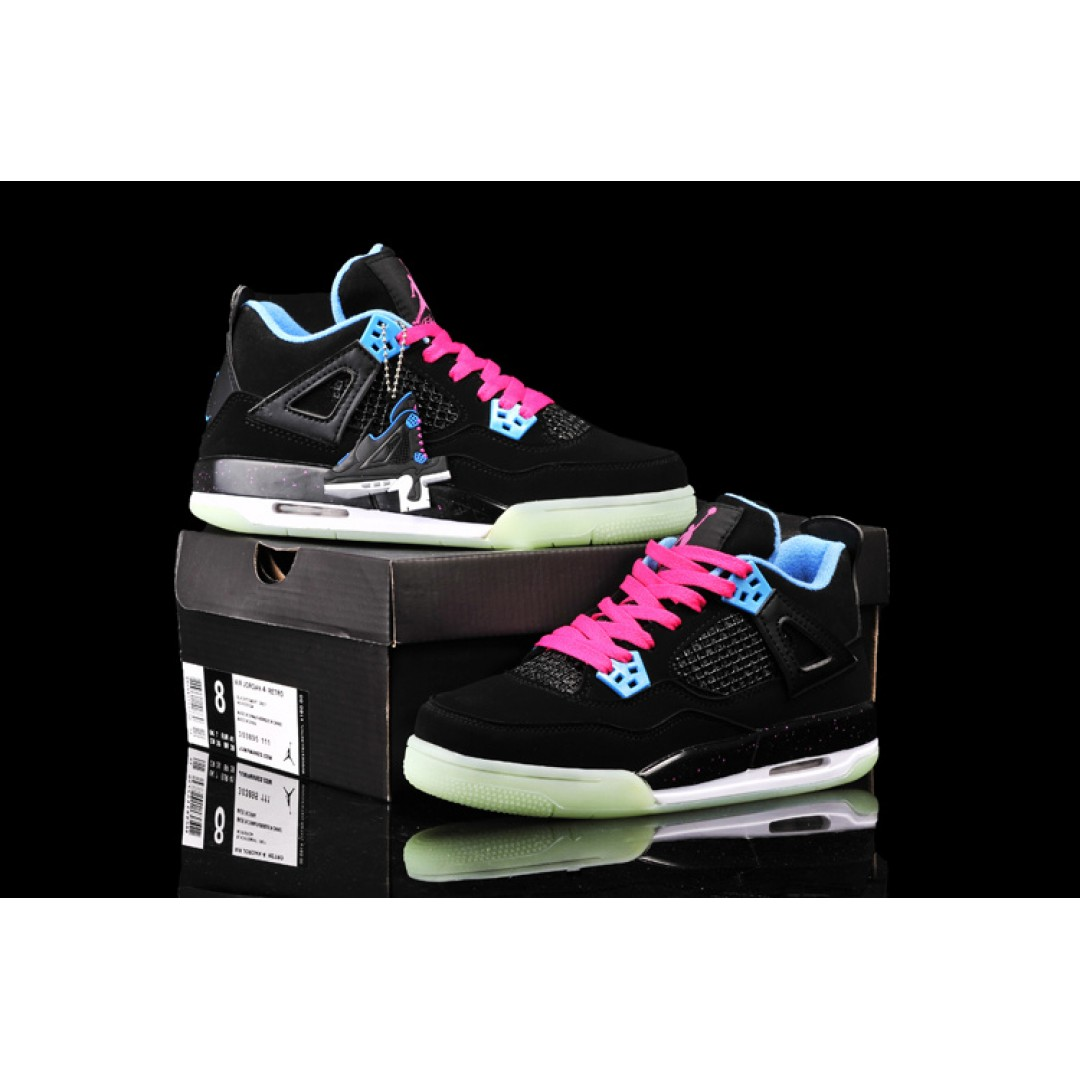 women air jordan 4 glow shoes 35 price women. Black Bedroom Furniture Sets. Home Design Ideas
