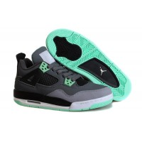 Women Air Jordan 4 Green Glow Super Perfect