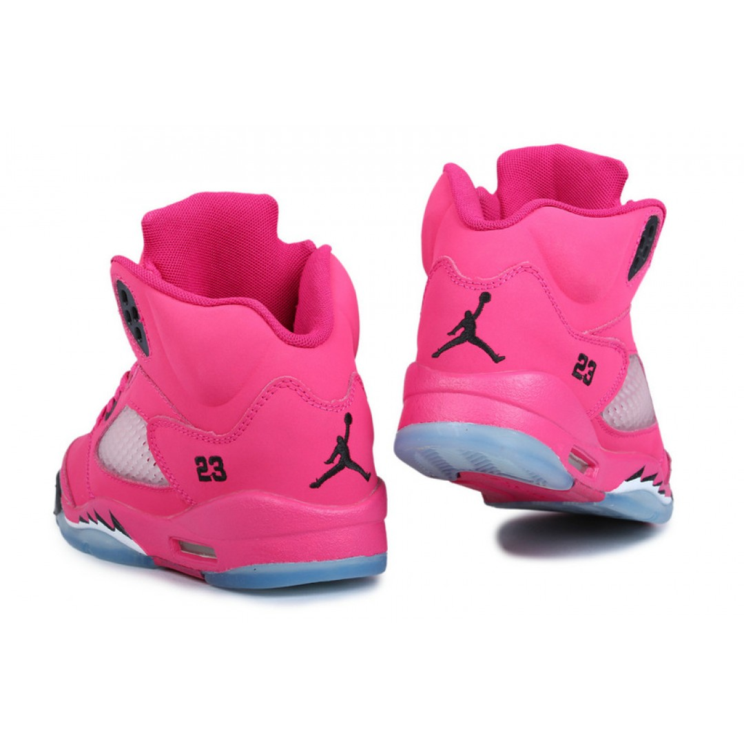 women air jordan 5 hot pink black price women. Black Bedroom Furniture Sets. Home Design Ideas