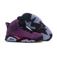 Women Air Jordan 6 purple grape 2015