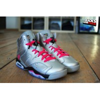 Women Air Jordan 6 GS Valentines Day