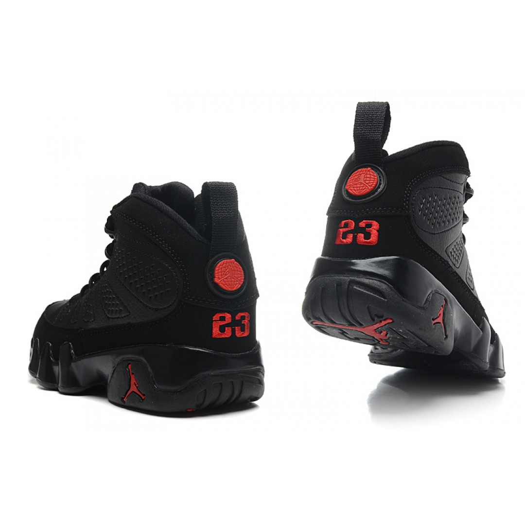 ... Women Air Jordan Retro 9 Black ...