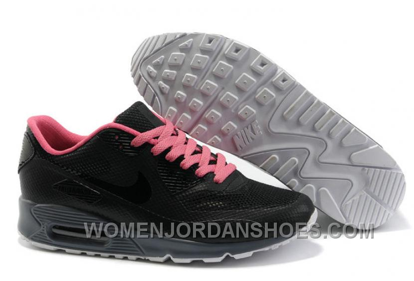 Nike Air Max 90 Hyperfuse Womens Rose Black Cheap To Buy Xbka3