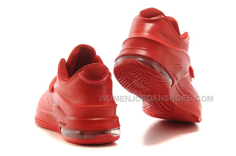 """Cheap Nike KD 7 """"Red Python"""" All Red For Sale, Price: $105 ..."""