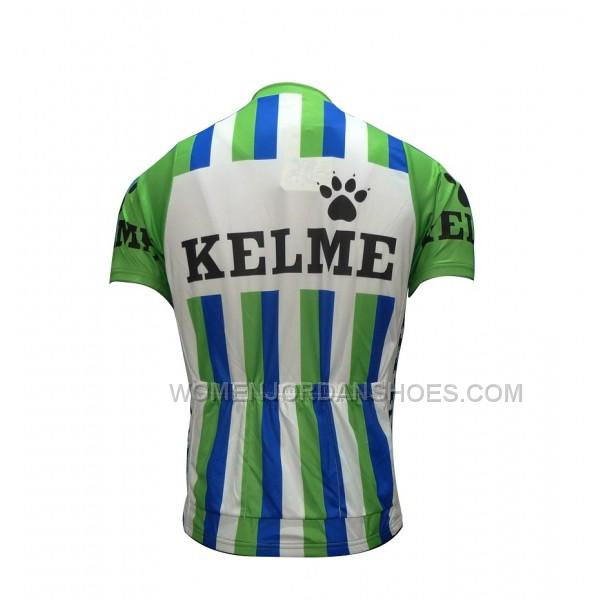 Kelme Throwback Green Cycling Jersey and Bib Shorts Kit