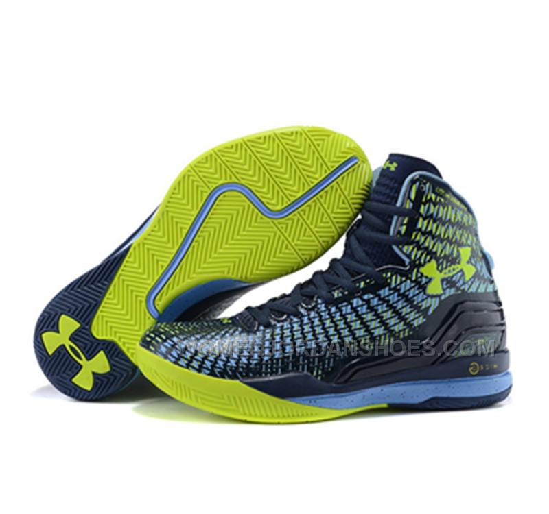 under armour stephen curry 1 shoes 2015 blue yellow price