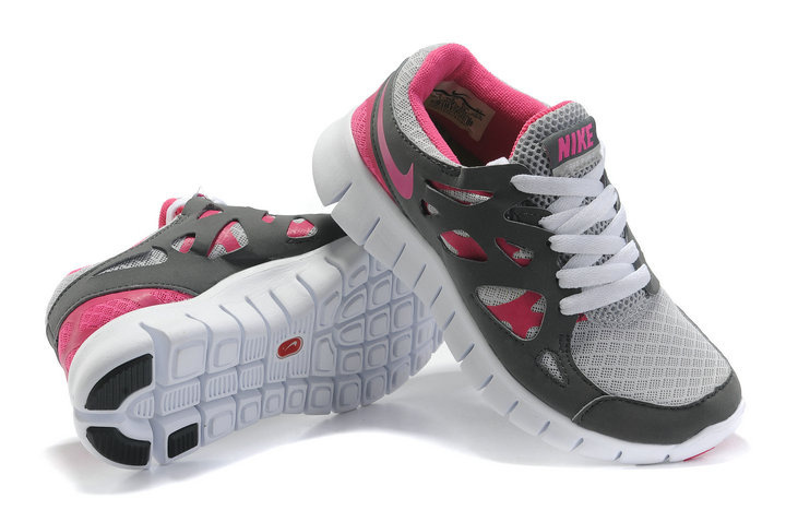 womens nike free run 2 grey white