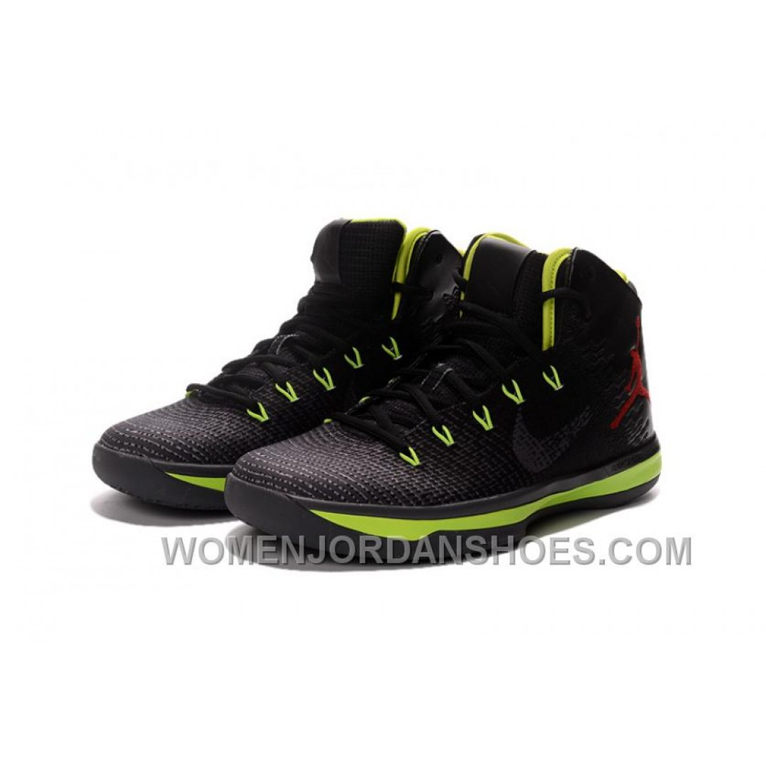2017 Air Jordan XXX1 Black Green Red Basketball Shoes New ...