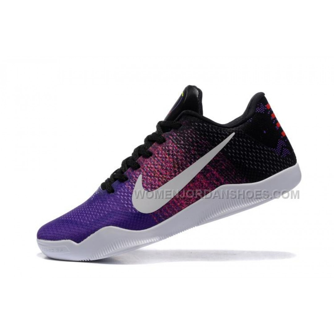 Mens Purple Nike Basketball Shoes