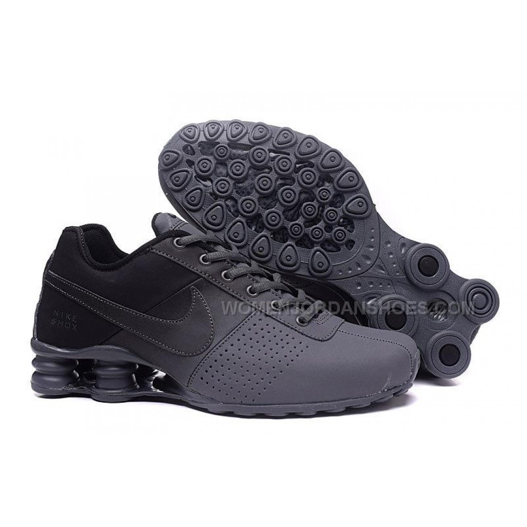 nike shox deliver all black 2016 new price 7500