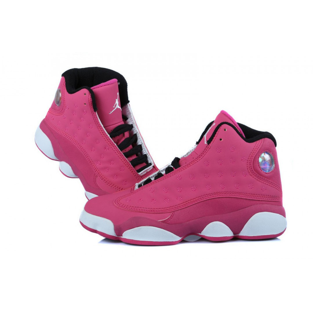 Pink And Black Jordan Shoes