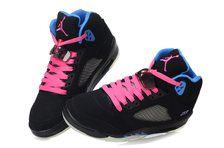 Jordan Pink And White Shoes