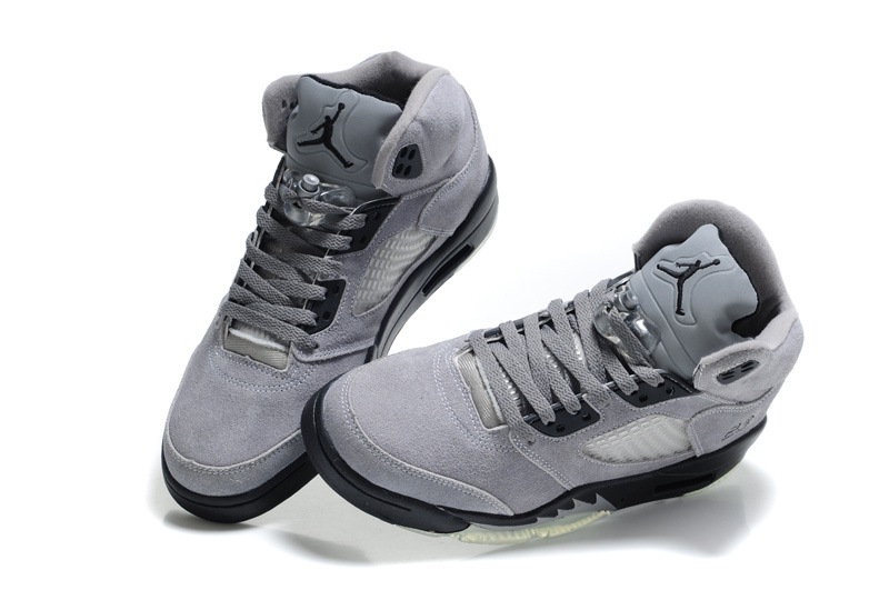 women air jordan 5 grey leather price 7596 women